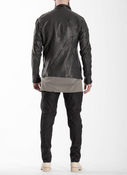 LEON EMANUEL BLANCK men distortion fencing jacket fully lined DIS M FJ 01 herren jacke soft horse leather black hide m 6
