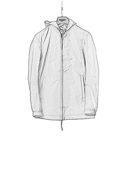 11byBBS Boris Bidjan Saberi J10 waterproof jacket nylon cotton black hide m 1