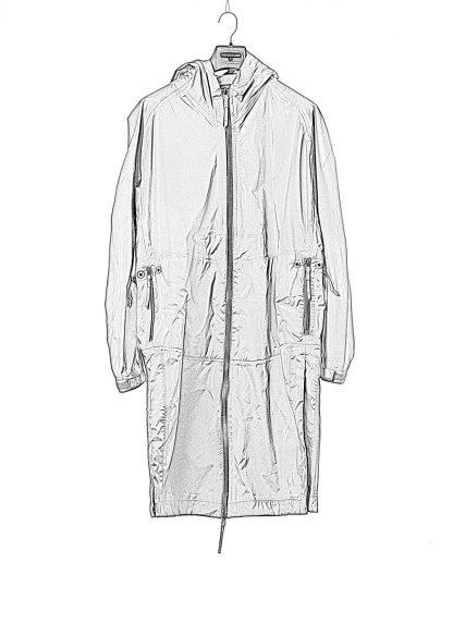 11byBBS Boris Bidjan Saberi Men rain coat jacket R3B F1337 waterproof herren jacke regen mantel pa ea black hide m 1