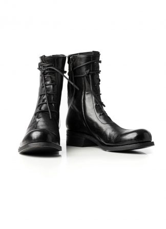 LEON EMANUEL BLANCK LEB Men Distortion Combat Work Boot Tractor Sole DIS M WB 01 Herren Stiefel Schuh horse leather black hide m 2