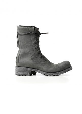 LEON EMANUEL BLANCK LEB Men Distortion Combat Work Boot Tractor Sole DIS M WB 01 Herren Stiefel Schuh horse leather grey hide m 2