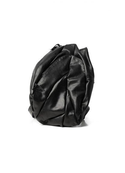 LEON EMANUEL BLANCK distortion dealer bag tasche DIS DB 01 XL horse full grain leather black hide m 4