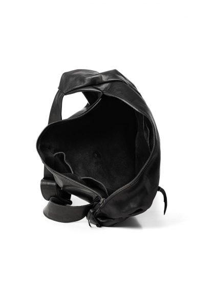 LEON EMANUEL BLANCK distortion dealer bag tasche DIS DB 01 XL horse full grain leather black hide m 5
