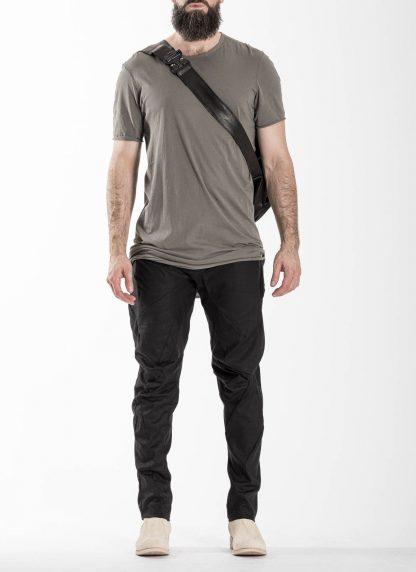 LEON EMANUEL BLANCK distortion dealer bag tasche DIS DB 01 XL horse full grain leather black hide m 9