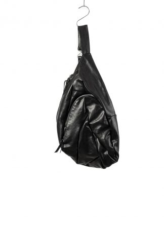 LEON EMANUEL BLANCK distortion dealer bag tasche DIS DB 01 XL horse leather black hide m 2