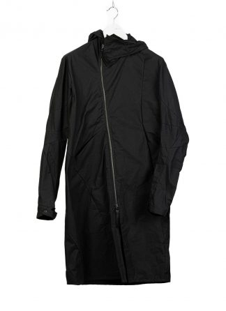 LEON EMANUEL BLANCK men distortion over under coat DIS M OUC 01 herren jacke jacket mantel waxed cotton black hide m 2