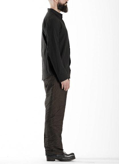 TAICHI MURAKAMI Men Inside Shirt Herren Hemd cotton black hide m 4