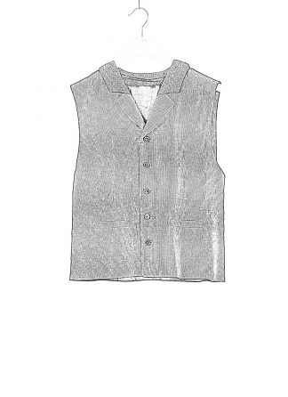 m.a cross maurizio amadei men classic buttoned vest L100K LCES herren weste linen cotton elastan black dark blue hide m 1