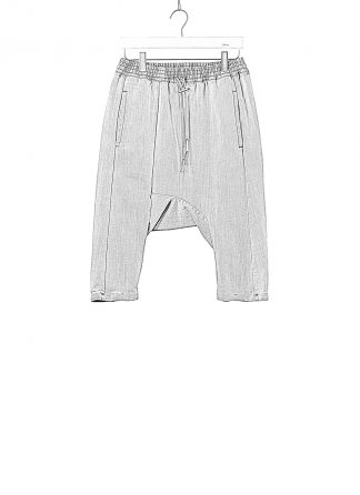 BORIS BIDJAN SABERI BBS Pants Herren Hose P28.1 F1406K Cotton Pu acid grey hide m 1