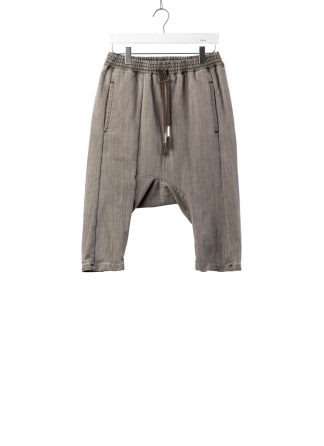 BORIS BIDJAN SABERI BBS Pants Herren Hose P28.1 F1406K Cotton Pu acid grey hide m 2