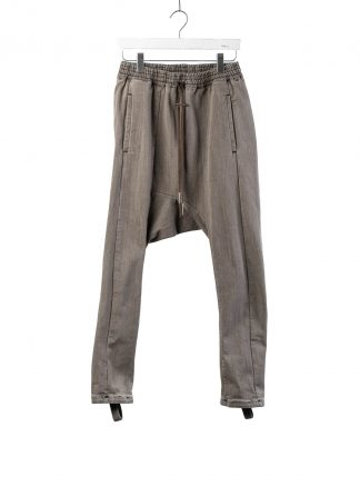 BORIS BIDJAN SABERI BBS Pants Herren Hose P28.2 F1406K Cotton Pu acid grey hide m 2