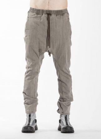 BORIS BIDJAN SABERI BBS Pants Herren Hose P28.2 F1406K Cotton Pu acid grey hide m 3