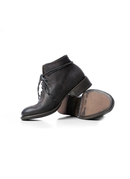 CHEREVICHKIOTVICHKI Women one piece boot with tongue damen schuh 17 2020 dark oyster waxed reverse cordovan hide m 3