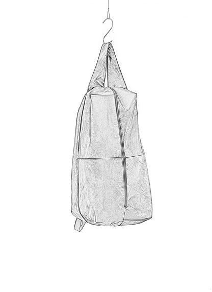 M.A Macross Maurizio Amadei BS100 CUF1.0 Zip Sack Bag Backpack Herren Tasche horse leather black hide m 1