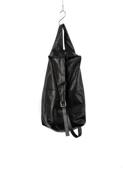 M.A Macross Maurizio Amadei BS100 CUF1.0 Zip Sack Bag Backpack Herren Tasche horse leather black hide m 3