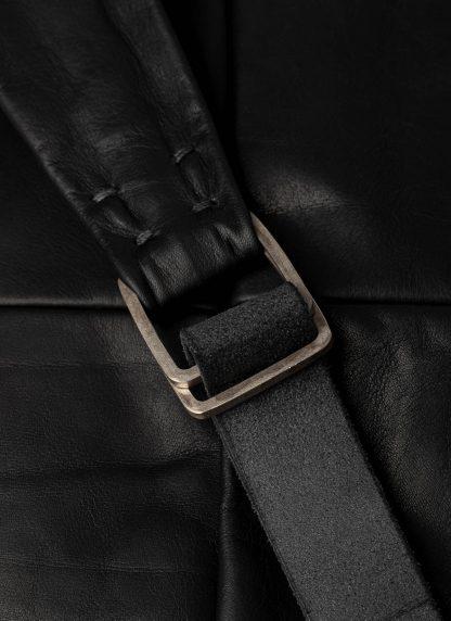 M.A Macross Maurizio Amadei BS100 CUF1.0 Zip Sack Bag Backpack Herren Tasche horse leather black hide m 7