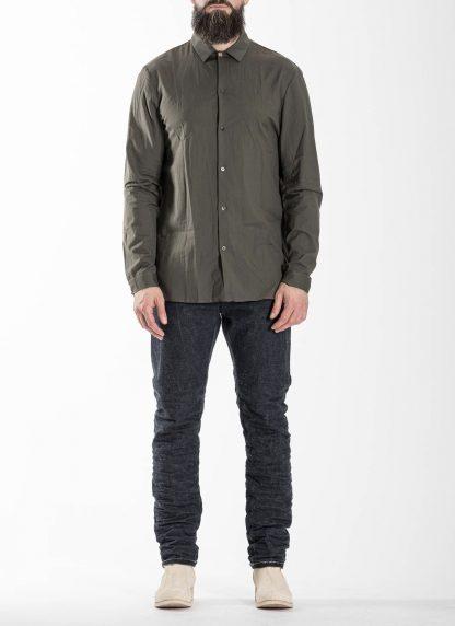 M.A Macross Maurizio Amadei Men Medium Fit Shirt H223 CKL Herren Hemd cotton cashmere black hide m 3