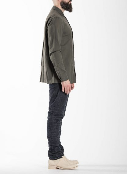 M.A Macross Maurizio Amadei Men Medium Fit Shirt H223 CKL Herren Hemd cotton cashmere black hide m 4