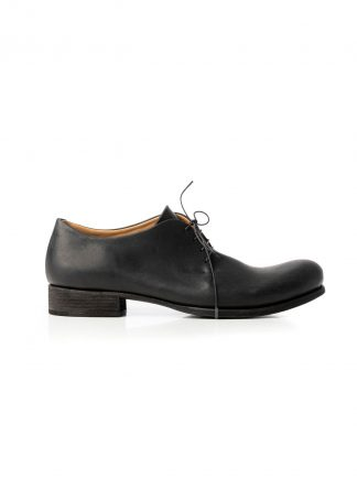 M.A Macross Maurizio Amadei S1A1 VA1.5 Men One Leather Piece Derby Shoe Herren Schuh vachetta cow leather black hide m 2