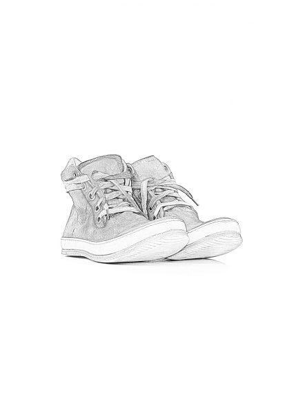 ADiciannoveventitre A1923 Augusta 1923 men one leather piece sneaker SSN7 herren schuh grey kangaroo leather hide m 1
