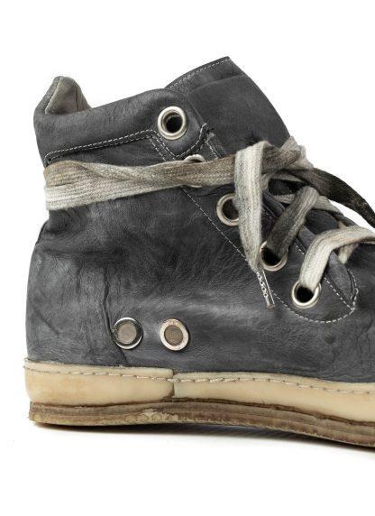 ADiciannoveventitre A1923 Augusta 1923 men one leather piece sneaker SSN7 herren schuh grey kangaroo leather hide m 12