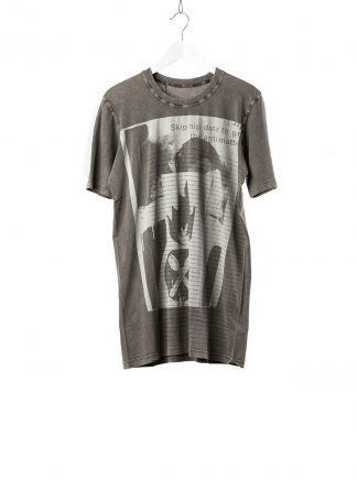 BORIS BIDJAN SABERI 11 BBS 11xMA Lunch Men Tshirt Herren Shirt TS5 F1101 cotton acid grey hide m 2