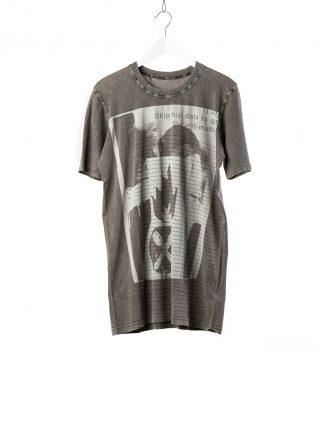 BORIS BIDJAN SABERI 11 BBS 11xMA Lunch Men Tshirt Herren Shirt TS5 F1101 cotton acid grey hide m 2