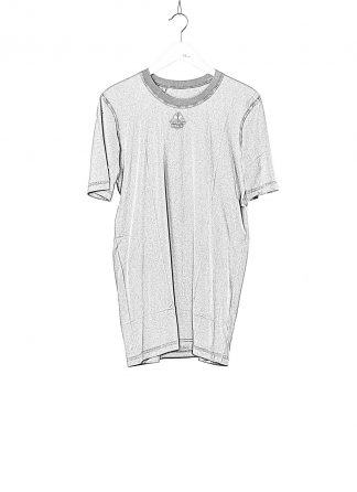 BORIS BIDJAN SABERI 11 BBS 11xMA Men Tshirt Herren Shirt TS5 F1101 cotton acid grey hide m 1