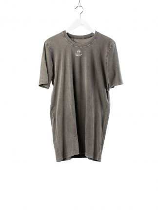 BORIS BIDJAN SABERI 11 BBS 11xMA Men Tshirt Herren Shirt TS5 F1101 cotton acid grey hide m 2