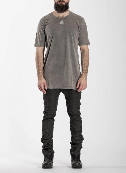 BORIS BIDJAN SABERI 11 BBS 11xMA Men Tshirt Herren Shirt TS5 F1101 cotton acid grey hide m 3