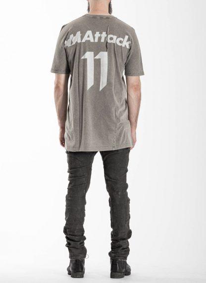 BORIS BIDJAN SABERI 11 BBS 11xMA Men Tshirt Herren Shirt TS5 F1101 cotton acid grey hide m 5