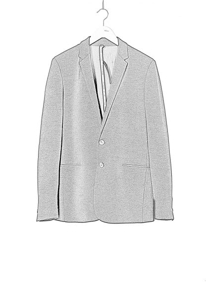 LABEL UNDER CONSTRUCTION Men 36FMJC103 WS105B FL 369 Slim Fit Formal Blazer Jacket Herren Jacke Anzug angora wool silk black hide m 1