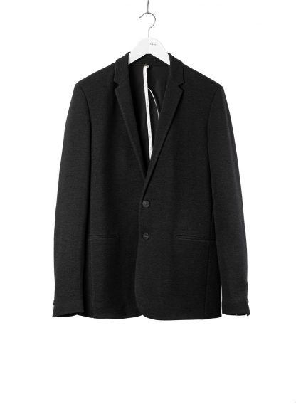LABEL UNDER CONSTRUCTION Men 36FMJC103 WS105B FL 369 Slim Fit Formal Blazer Jacket Herren Jacke Anzug angora wool silk black hide m 2