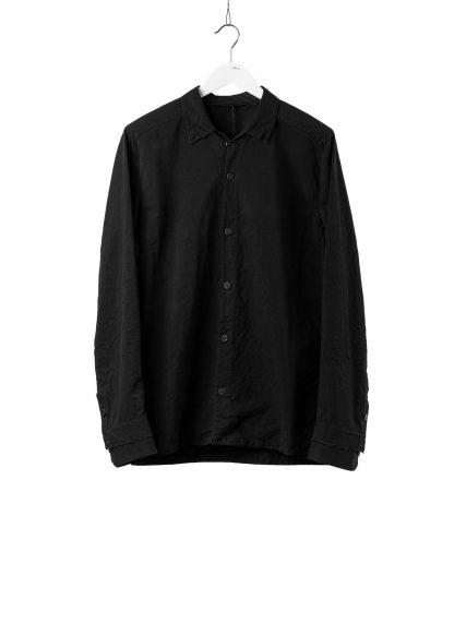 LAYER0 Layer Zero Men Button Down Shirt Herren Hemd cotton black hide m 2