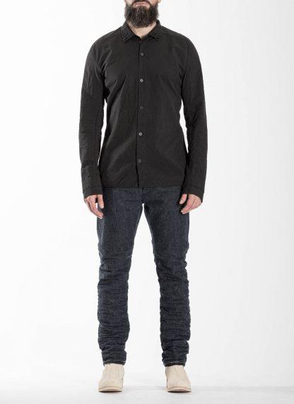 LAYER0 Layer Zero Men Button Down Shirt Herren Hemd cotton black hide m 3