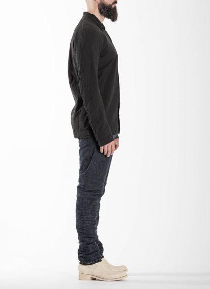 LAYER0 Layer Zero Men Button Down Shirt Herren Hemd cotton black hide m 4