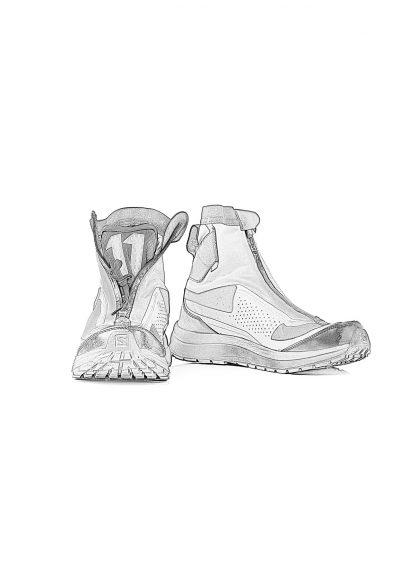 11byBBS Boris Bidjan Saberi 11xS Salomon men sneaker BAMBA2 High GTX gore tex waterproof herren schuh black dye hide m 1