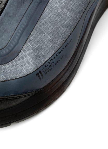 11byBBS Boris Bidjan Saberi 11xS Salomon men sneaker BAMBA2 High GTX gore tex waterproof herren schuh black dye hide m 9