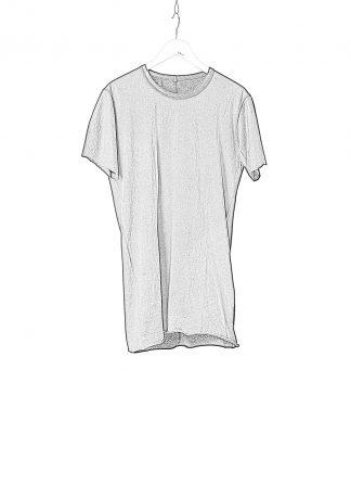 BORIS BIDJAN SABERI BBS Men Classic Tshirt Tee Herren Shirt TS1.2.1 exclusively limited Object Dyed F035 cotton black hide m 1