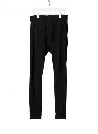 BORIS BIDJAN SABERI BBS Men Pants Herren Hose P11 exclusively limited Resin Dyed F1401M cotton pu black hide m 2