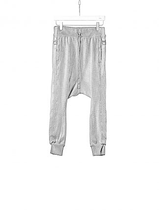 BORIS BIDJAN SABERI BBS LONGJOHN2.1 F0406C men pants herren hose jogger cotton ly faded dark grey hide m 1