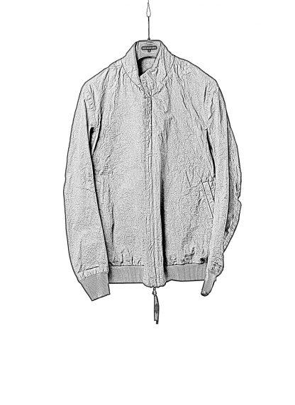 BORIS BIDJAN SABERI BBS Men Exclusively Jacket J3 F1506N Reversible Seam Taped Resin Dyed Herren Bomber Jacke Blouson cotton black hide m 1
