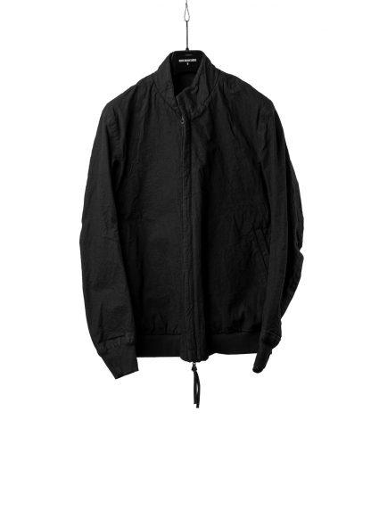 BORIS BIDJAN SABERI BBS Men Exclusively Jacket J3 F1506N Reversible Seam Taped Resin Dyed Herren Bomber Jacke Blouson cotton black hide m 2