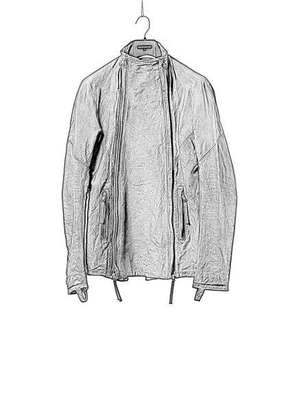 BORIS BIDJAN SABERI BBS Men Exclusively Jacket J4 FMM20020 Object Dyed Special Oil Treatment Body Molded Herren Leder Jacke horse leather black hide m 1