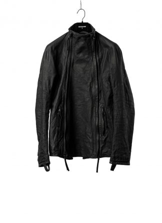 BORIS BIDJAN SABERI BBS Men Exclusively Jacket J4 FMM20020 Object Dyed Special Oil Treatment Body Molded Herren Leder Jacke horse leather black hide m 2
