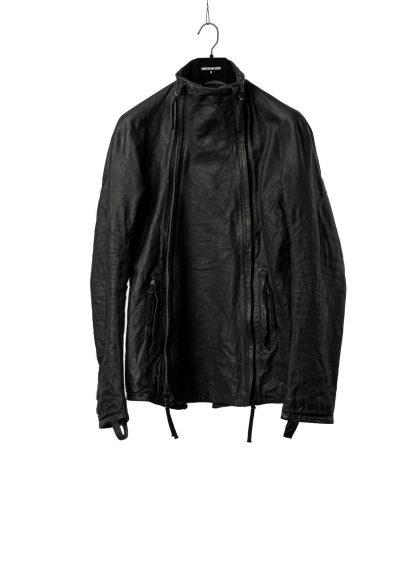 BORIS BIDJAN SABERI BBS Men Exclusively Jacket J4 FMM20020 Object Dyed Special Oil Treatment Body Molded Herren Leder Jacke horse leather black hide m 2