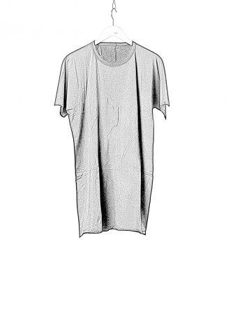 BORIS BIDJAN SABERI BBS Men One Piece TS Tshirt Regular Fit Herren Tee Object Dyed F035 cotton black hide m 1