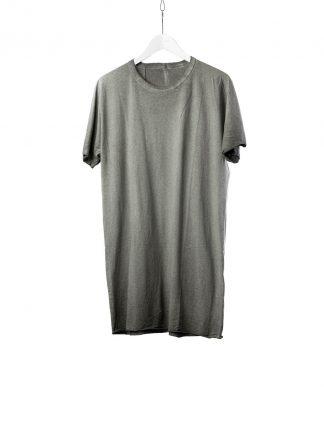 BORIS BIDJAN SABERI BBS Men One Piece Tshirt Regular Fit Herren Tee Resin Dyed F035 cotton faded dark grey hide m 2