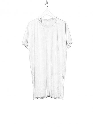BORIS BIDJAN SABERI BBS Men One Piece Tshirt Regular Fit Resin Dyed F035 cotton faded light grey hide m 1