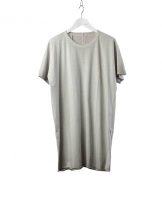 BORIS BIDJAN SABERI BBS Men One Piece Tshirt Regular Fit Resin Dyed F035 cotton faded light grey hide m 2